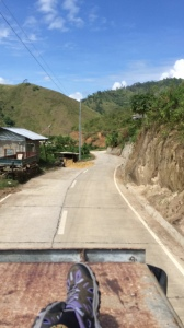 The road to Bontoc.